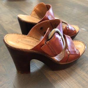 Born leather Sandles